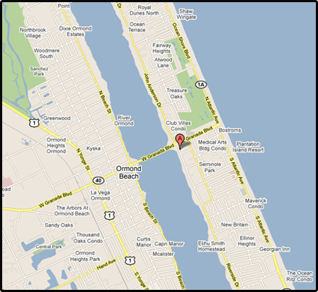 Ormond Beach Zip Code Map.The Casements Ormond Beach Florida